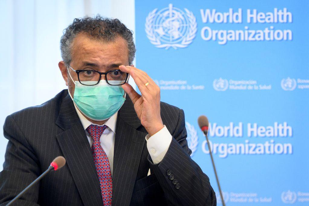 Tedros Adhanom Ghebreyesus, director general de la OMS.