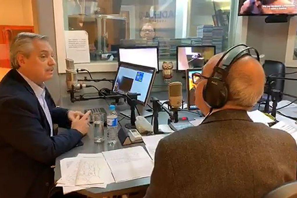 Mario Pereyra, el periodista que se enfrentó a Fernández al aire