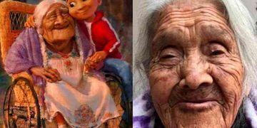 """Quién es María Salud Ramírez, la abuela que inspiró a """"Mamá Coco"""" y cumplió 108 años"""