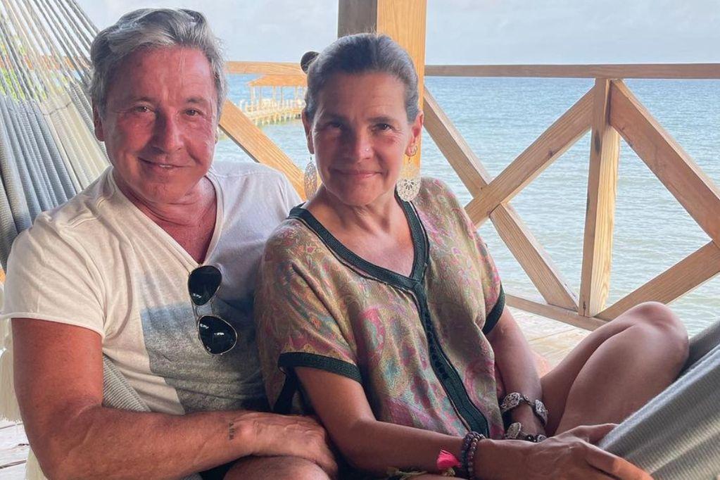 El cantante y su esposa llevan más de 30 años juntos.