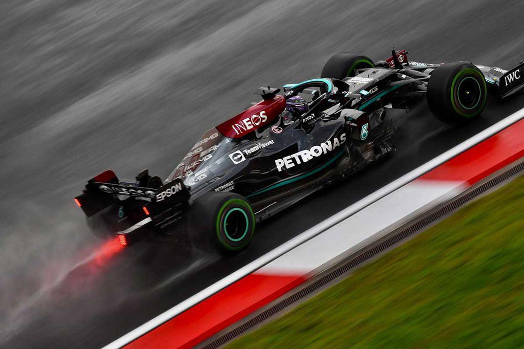 Hamilton se negó a parar cuando Mercedes se lo pidió