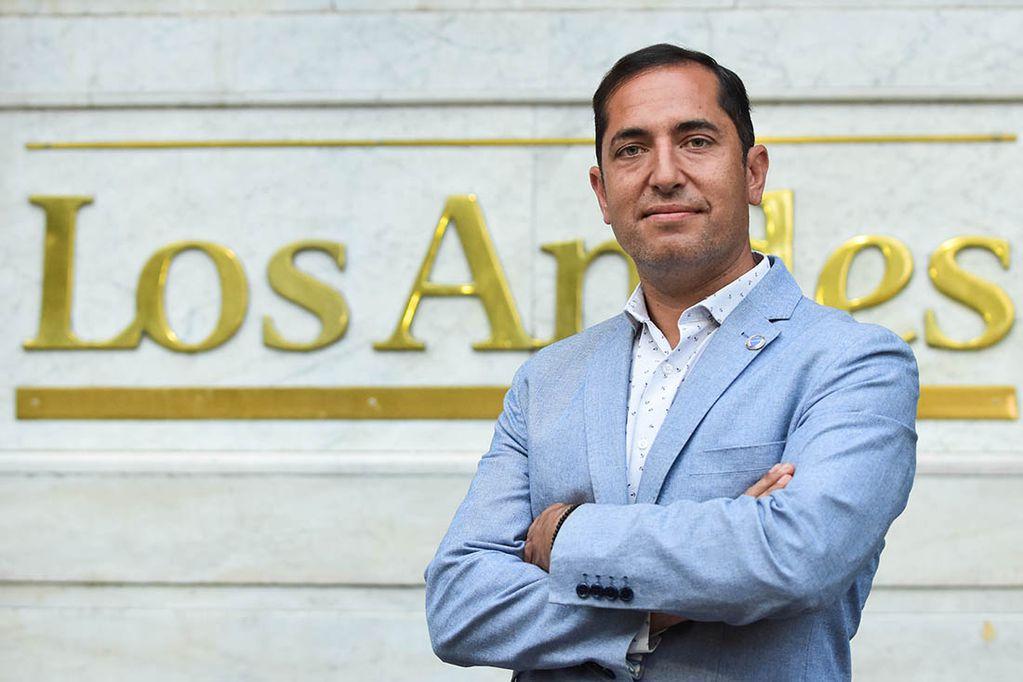 """Andrés Nicosia: """"Si no fuese por la pandemia, hoy Godoy Cruz estaría descendido"""""""