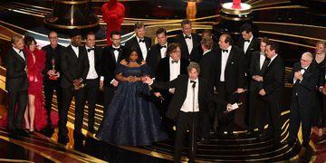 """""""Green Book"""" se llevó el premio a Mejor Película, así como también a mejor guión original."""