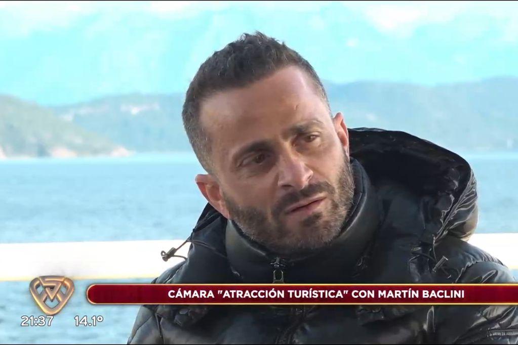 Martín Baclini mandó al frente a Luciana Salazar y confirmó que ella le fue infiel a Martín Redrado