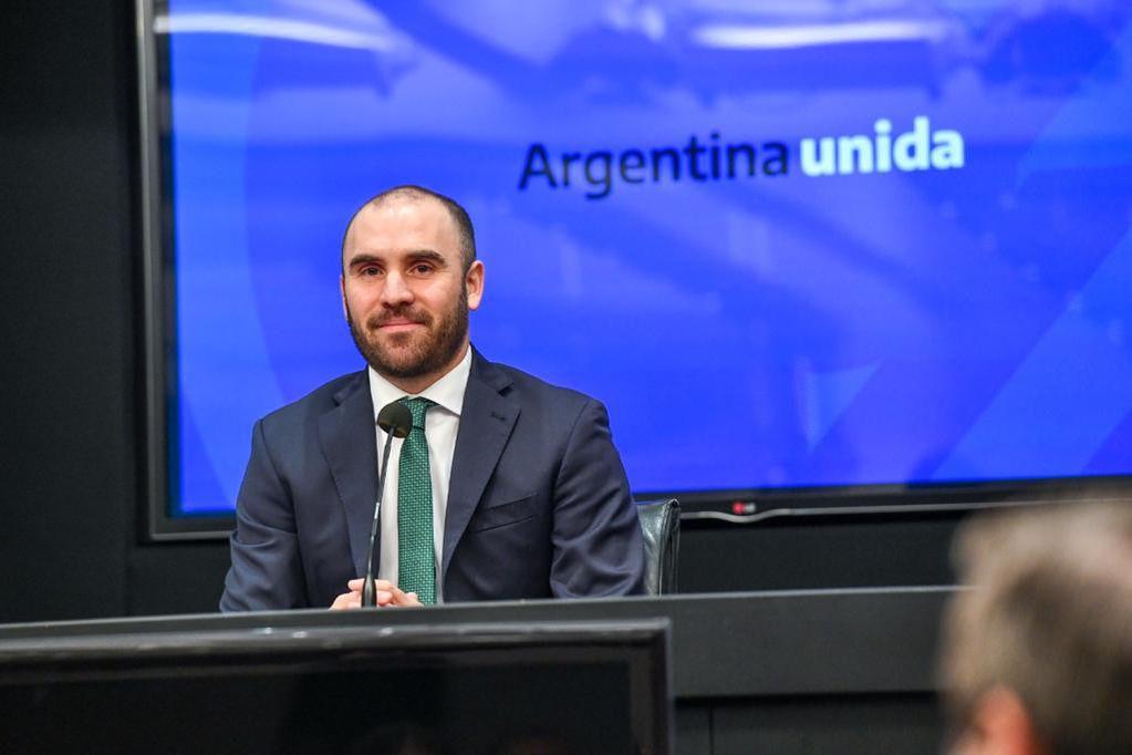 El ministro de Economía, Martín Guzmán. (Foto: Prensa Economía)