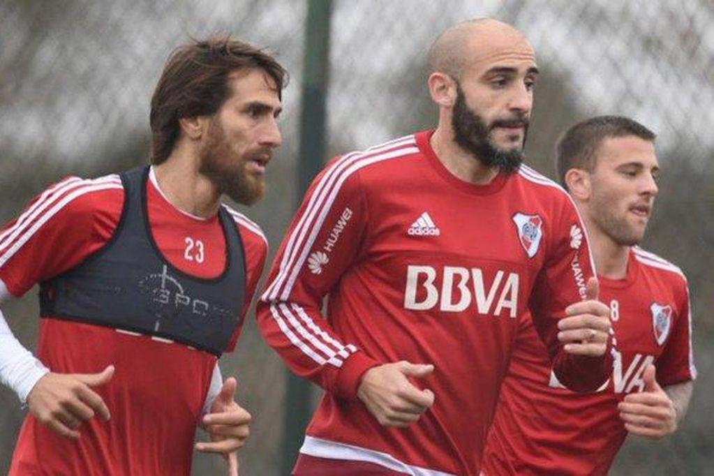 River: Ponzio y Pinola están a un paso de renovar contrato y dejan atrás los rumores del retiro