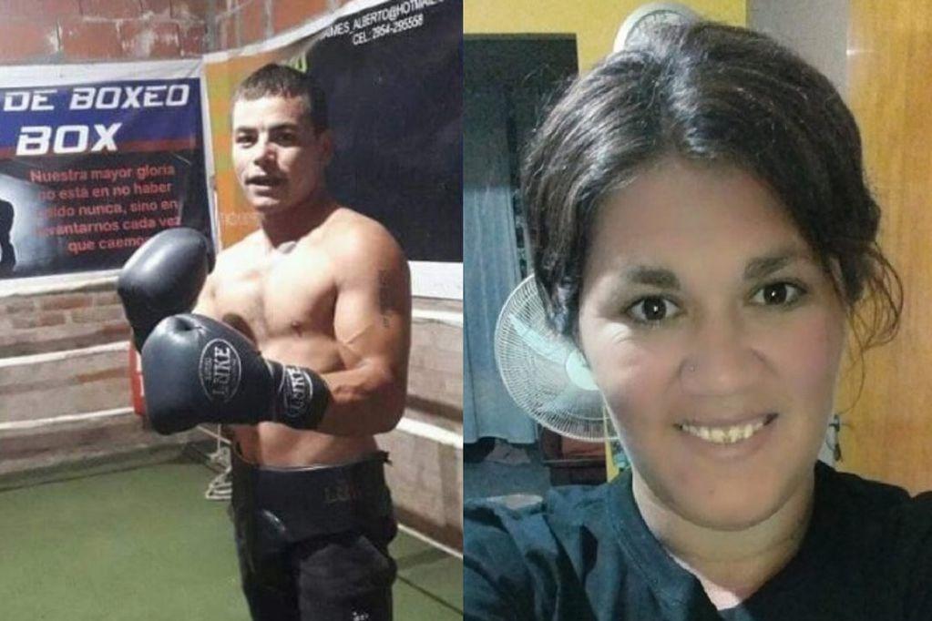 Un boxeador asesinó a puñaladas a su novia mientras dormían sus tres hijos
