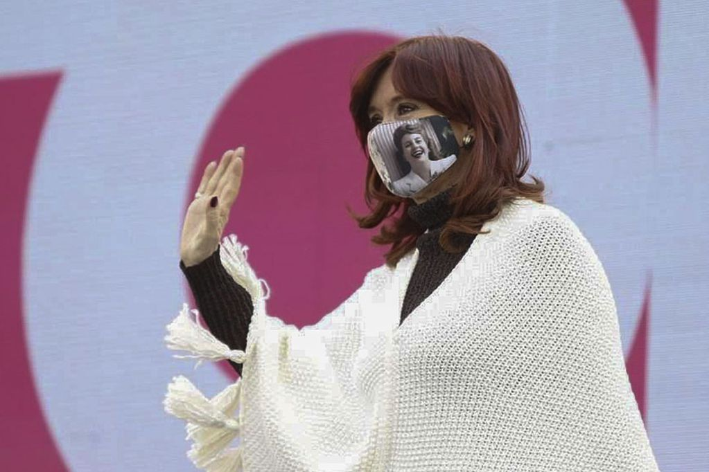 La vicepresidenta Cristina Fernández de Kirchner. Télam