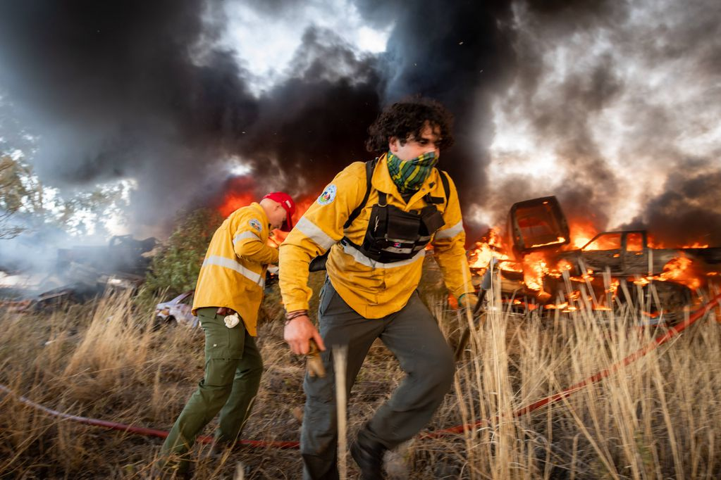 Un desafío, evitar los incendios de campos