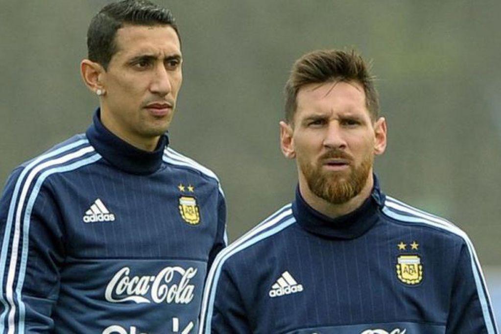 Di María evoluciona bien de su lesión y está disposición de Scaloni para el mano a mano ante Ecuador