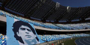 El estadio Diego Maradona en Napoli