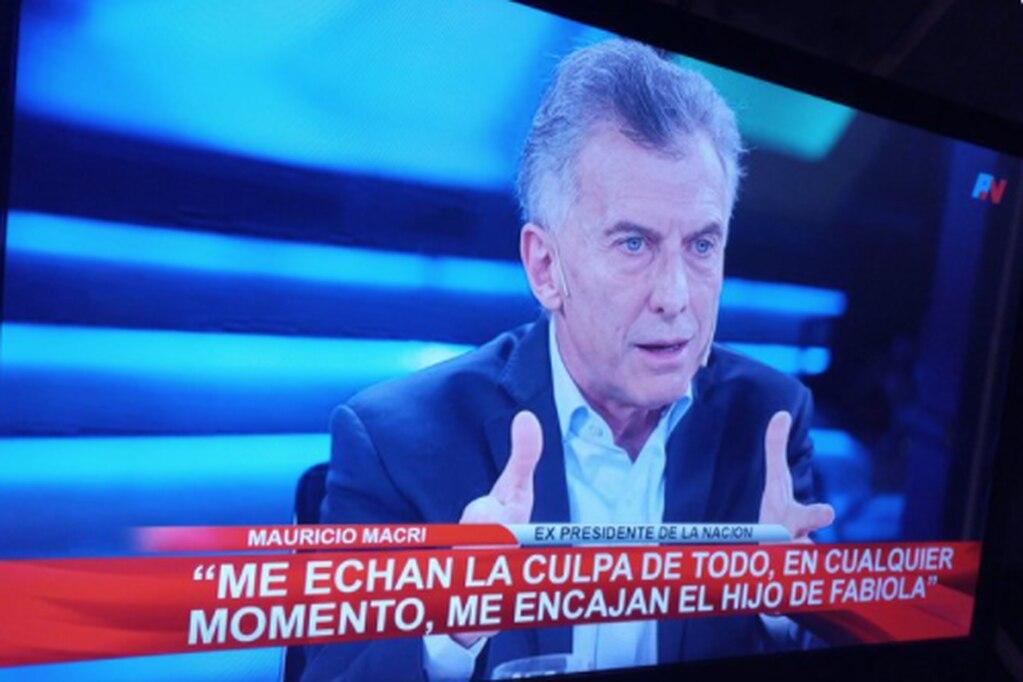 Mauricio Macri protagonizó uno de los memes referidos al embarazo de la primera dama.