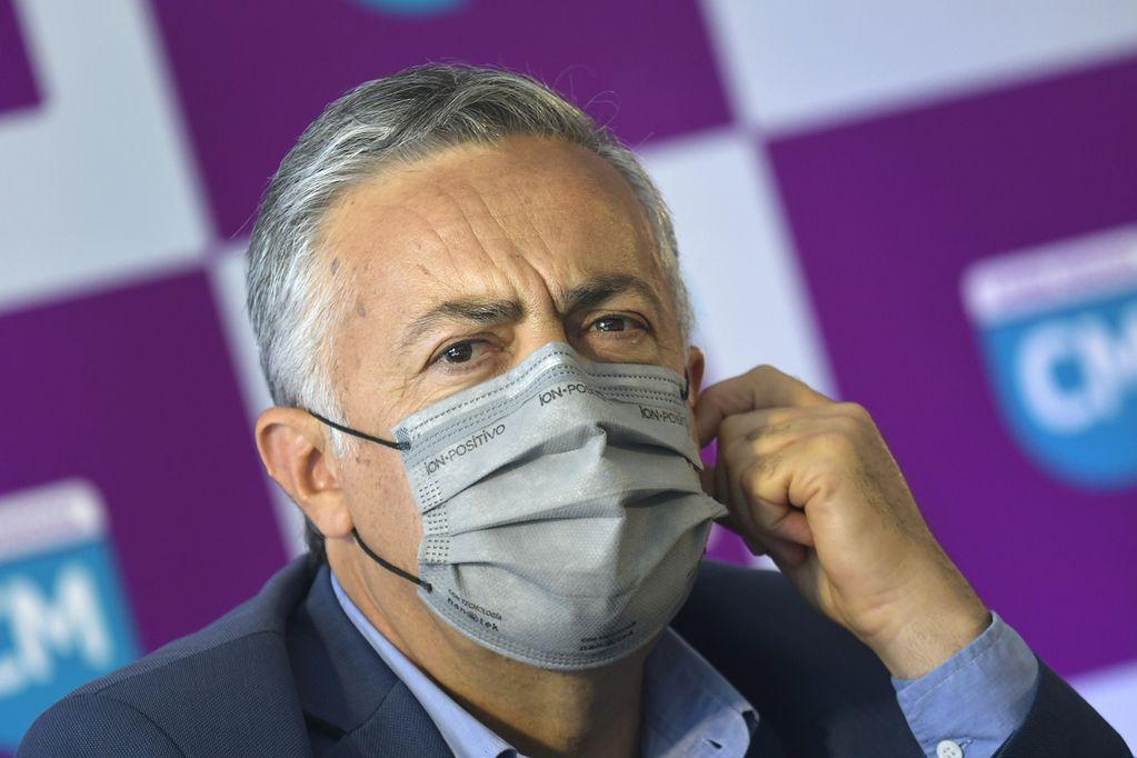 El diputado nacional Alfredo Cornejo criticó a Cristina Fernández por la carta que escribió.   Foto: Orlando Pelichotti