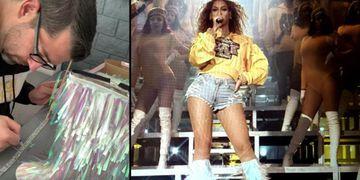 """Pasaron tres semanas en recrear el """"look"""" de Beyoncé y así le cumplieron el sueño a su hija"""