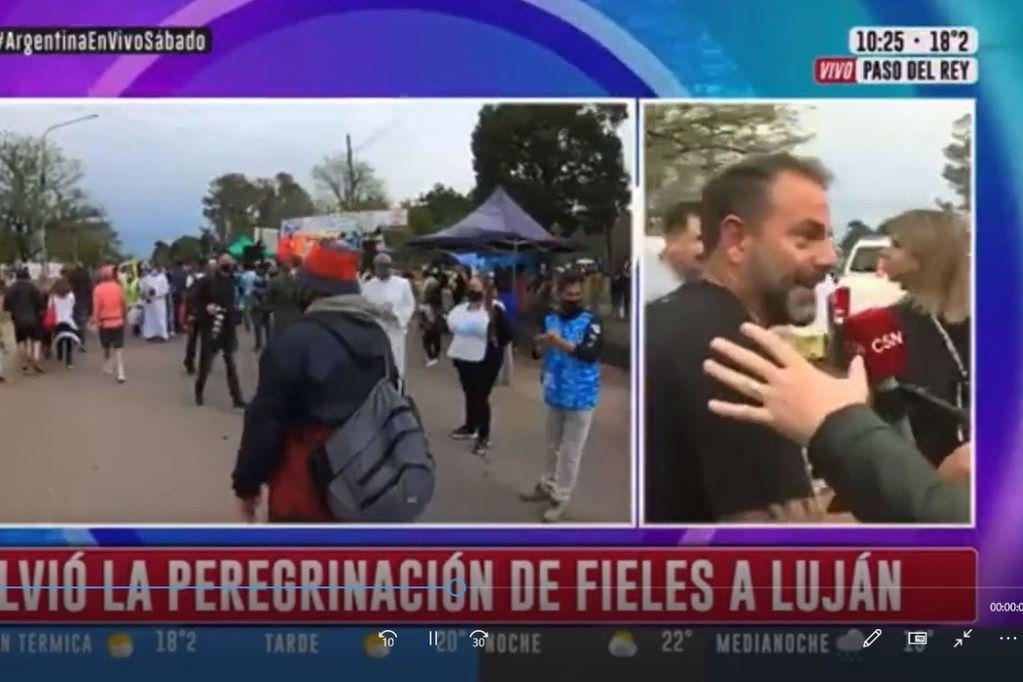 """El incómodo momento que vivieron en C5N: """"Venimos para que pierda Cristina"""" (Captura TV)"""