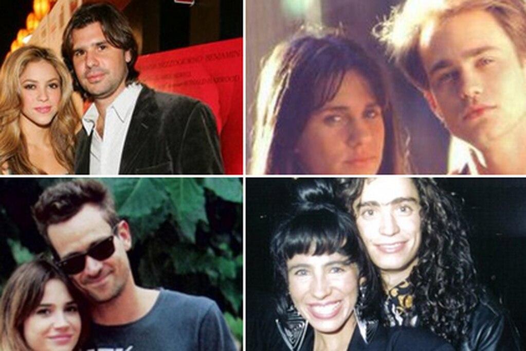 ¿Te acordás de estas parejas? Un hilo de Twitter recordó los amores retro de los famosos argentinos