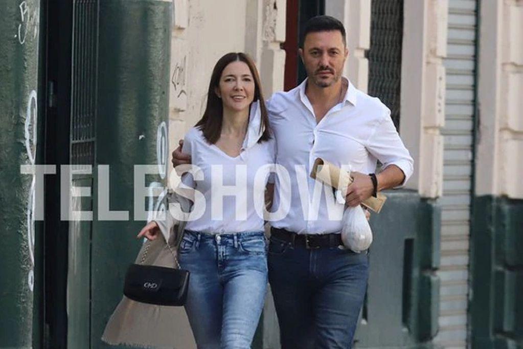 Cristina Pérez y el diputado mendocino Luis Petri están enamorados (Gentileza / Teleshow)
