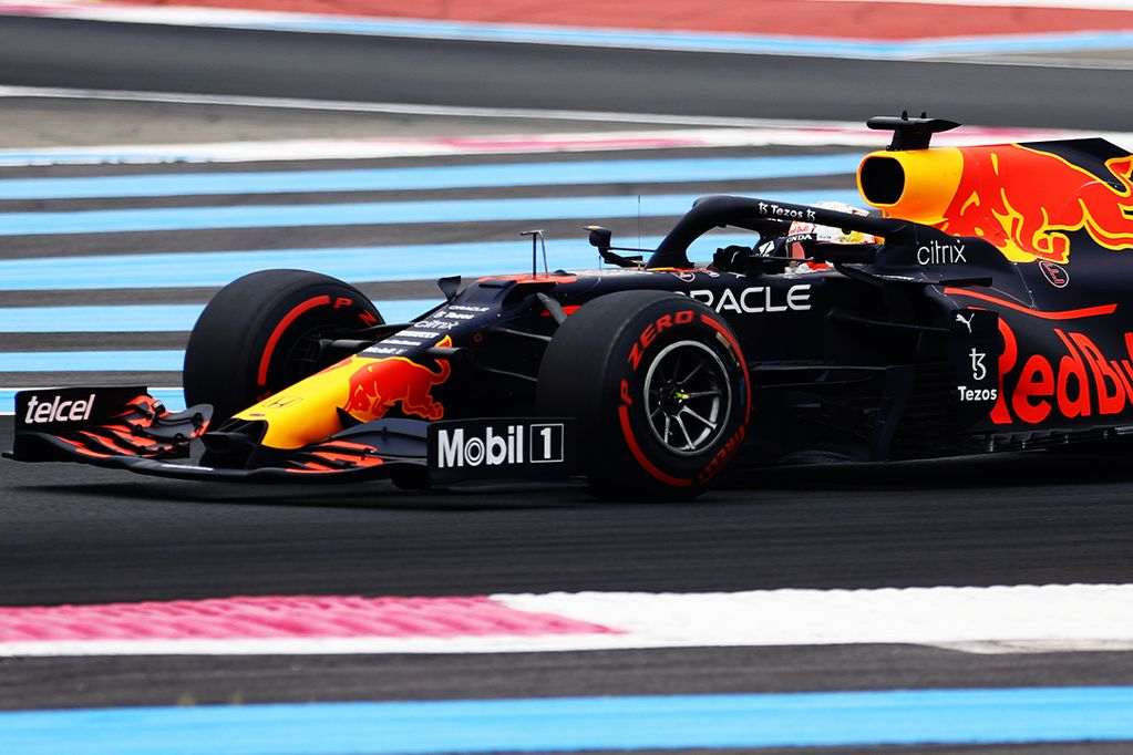 Verstappen partirá adelante en Paul Ricard