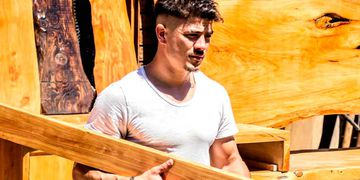 Nahuel López Matheu, el carpintero de Bienvenidos a Bordo habló de su participación en el ciclo.