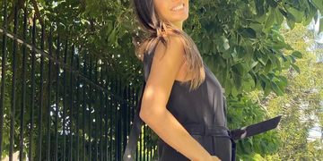 Pampita transita la semana 22 de embarazo de su hija