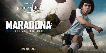 """""""Maradona: Sueño Bendito""""."""