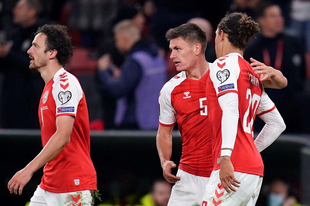 Dinamarca, único invicto en las eliminatorias de Europa, se clasificó al Mundial. (AP)