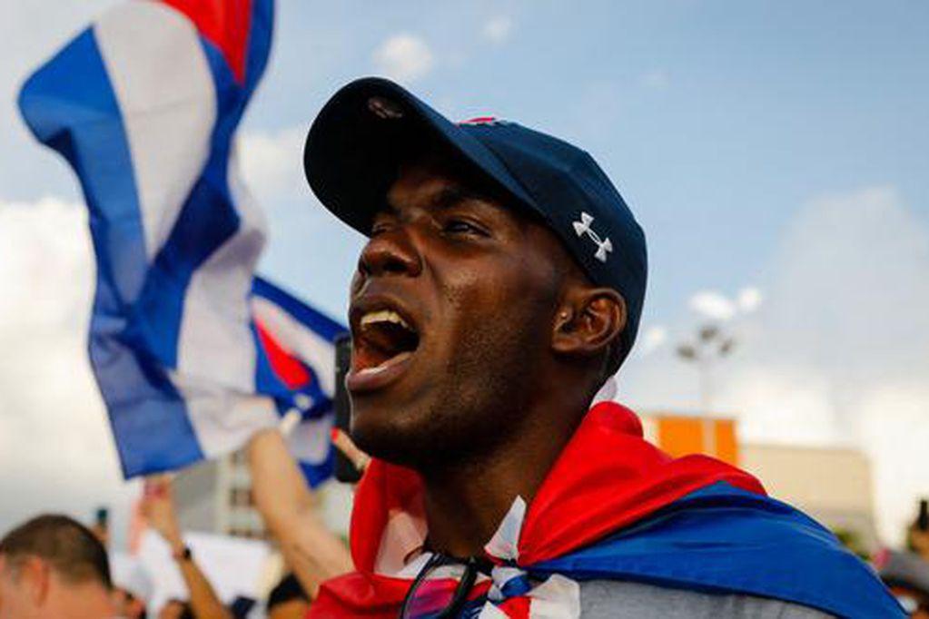 Manifestaciones opositoras en Cuba