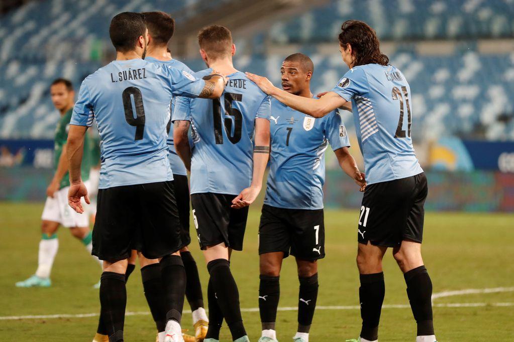 Video: Uruguay le ganó a Bolivia y se aseguró un lugar en los cuartos de final de la Copa América