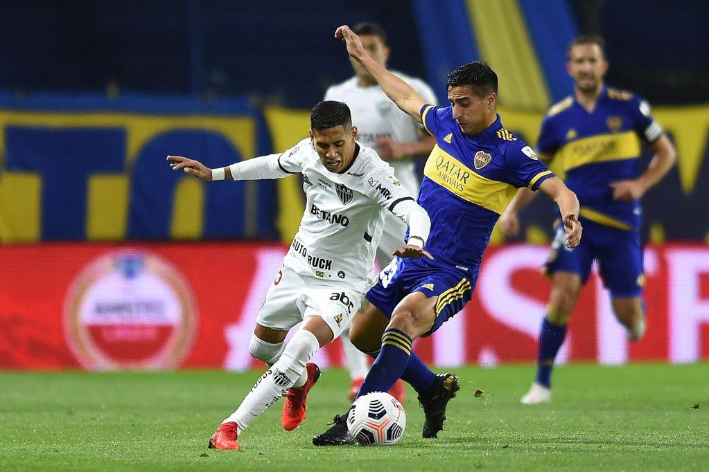 Boca igualó frente a Atlético Mineiro en la Bombonera tras una enorme polémica con el VAR