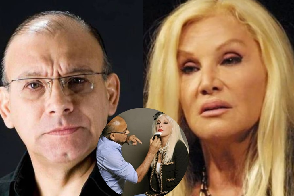 Murió por coronavirus Juan Carlos López, el histórico maquillador de Susana Giménez