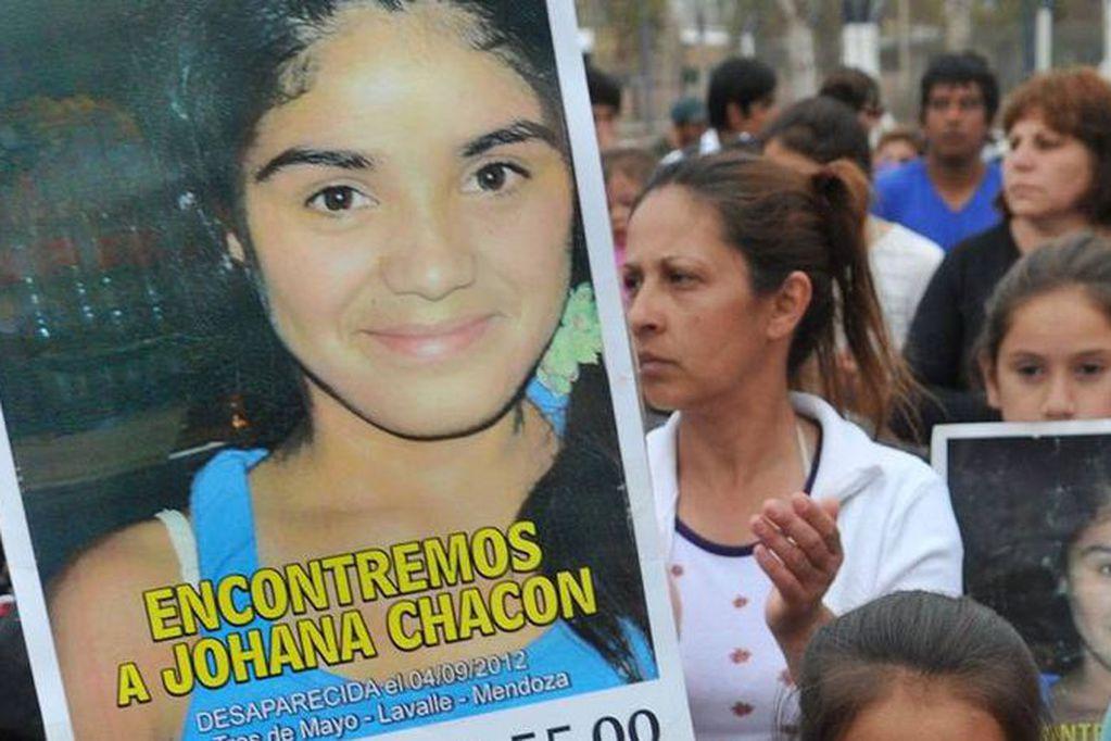 Johana Chacón fue vista por última vez el 4 de septiembre de 2012