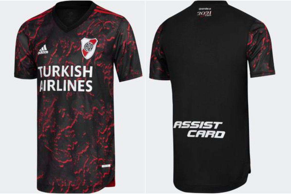 La nueva camiseta alternativa de River Plate.