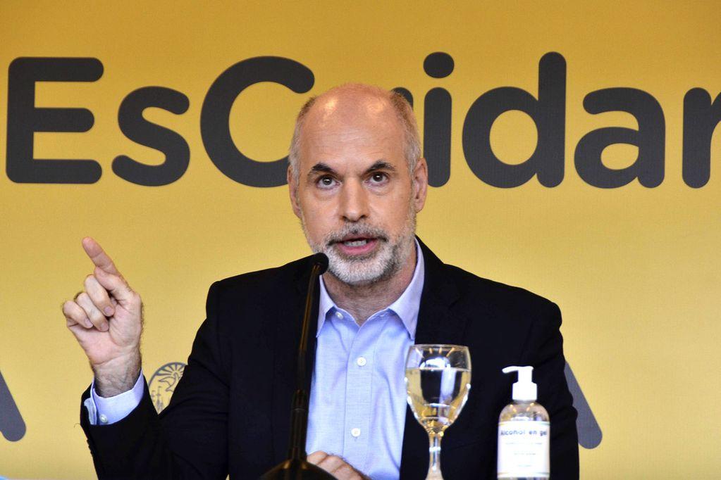 Horacio Rodríguez Larreta, jefe de Gobierno de la ciudad de Buenos Aires. Foto: Télam