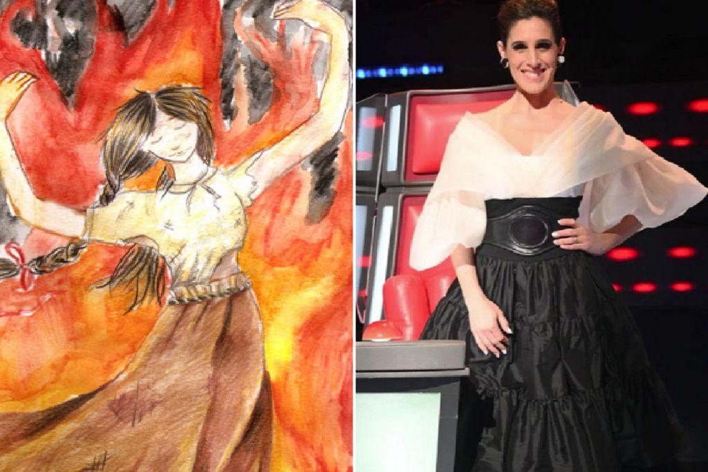 La trágica historia de la Telesita, la mujer que murió quemada y da nombre a una chacarera interpretada por Soledad Pastorutti