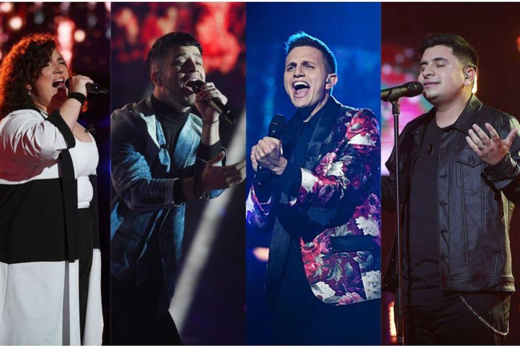 A través de Twitter compartieron un emotivo encuentro con los cantantes.