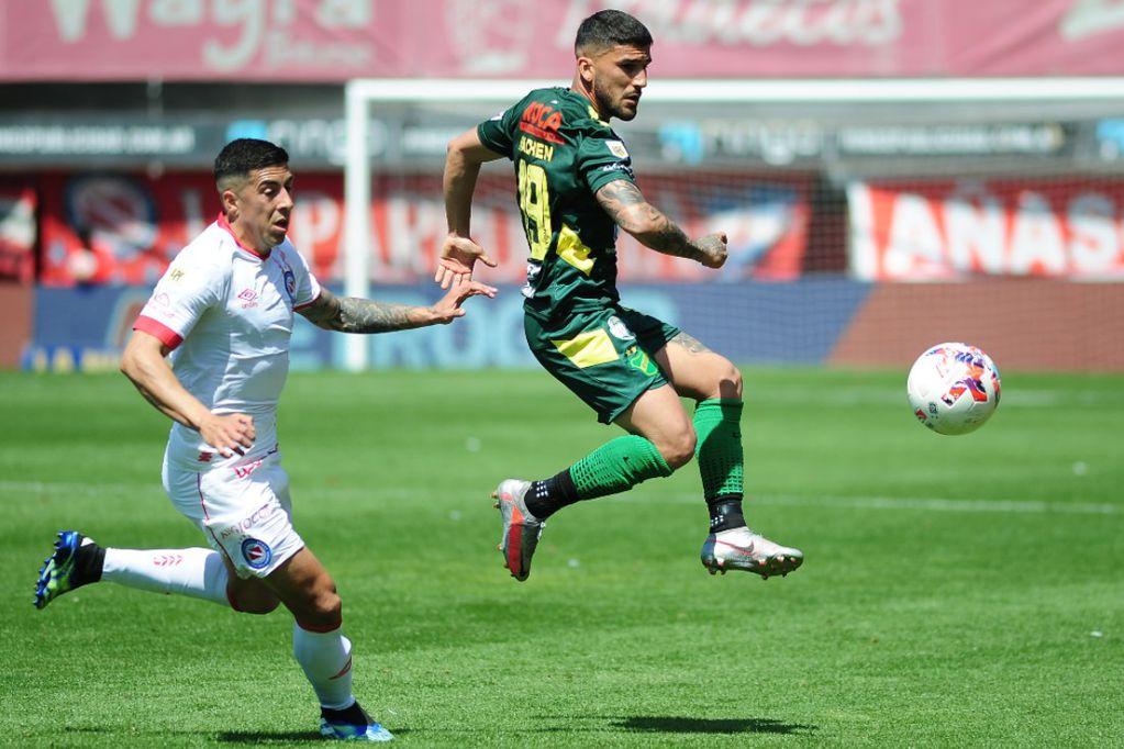 Defensa sorprendió a Argentinos en La Paternal y logró su segundo triunfo en fila./ Gentileza.