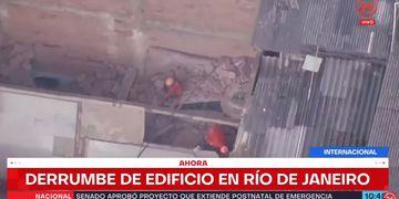 Rio de Janeiro derrumbe