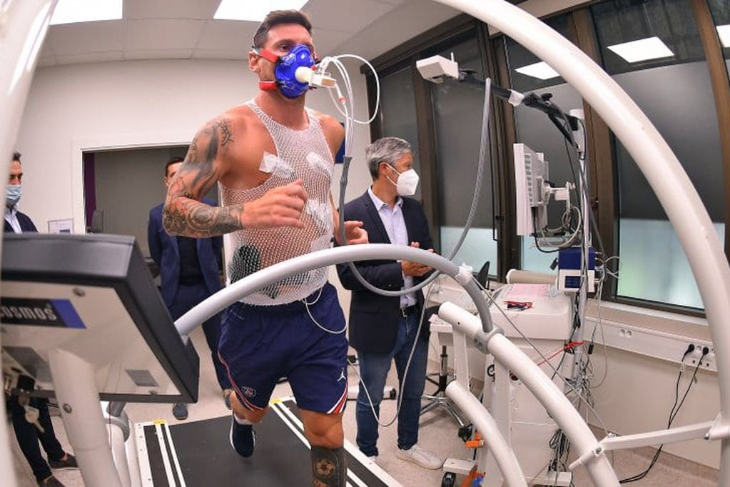 La revisación médica de Lionel Messi en el PSG fue todo un éxito. / Gentileza.