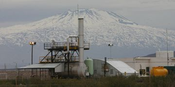 Frenada. La mina de Malargüe lleva seis años inactiva.  Los Andes