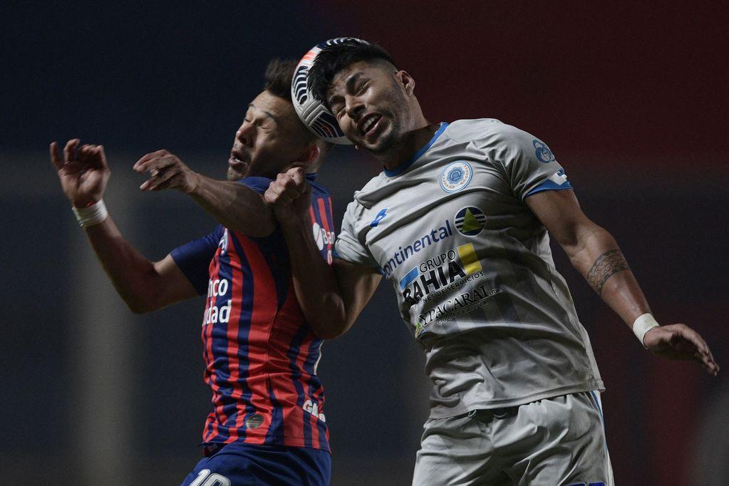 Copa Sudamericana: San Lorenzo con Sebastián Torrico en el arco, no pudo ante 12 de Octubre y tiene un pie afuera de los octavos de final