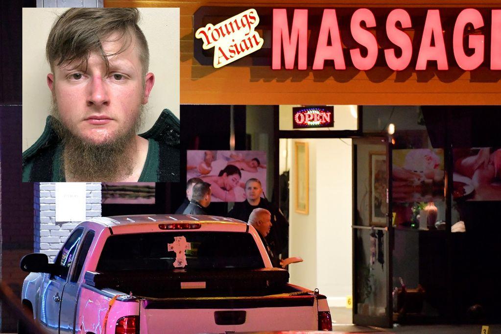 Robert Aaron Long (21), detenido por matar a ocho mujeres, entre ellas seis asiáticas, en Estados Unidos - AP