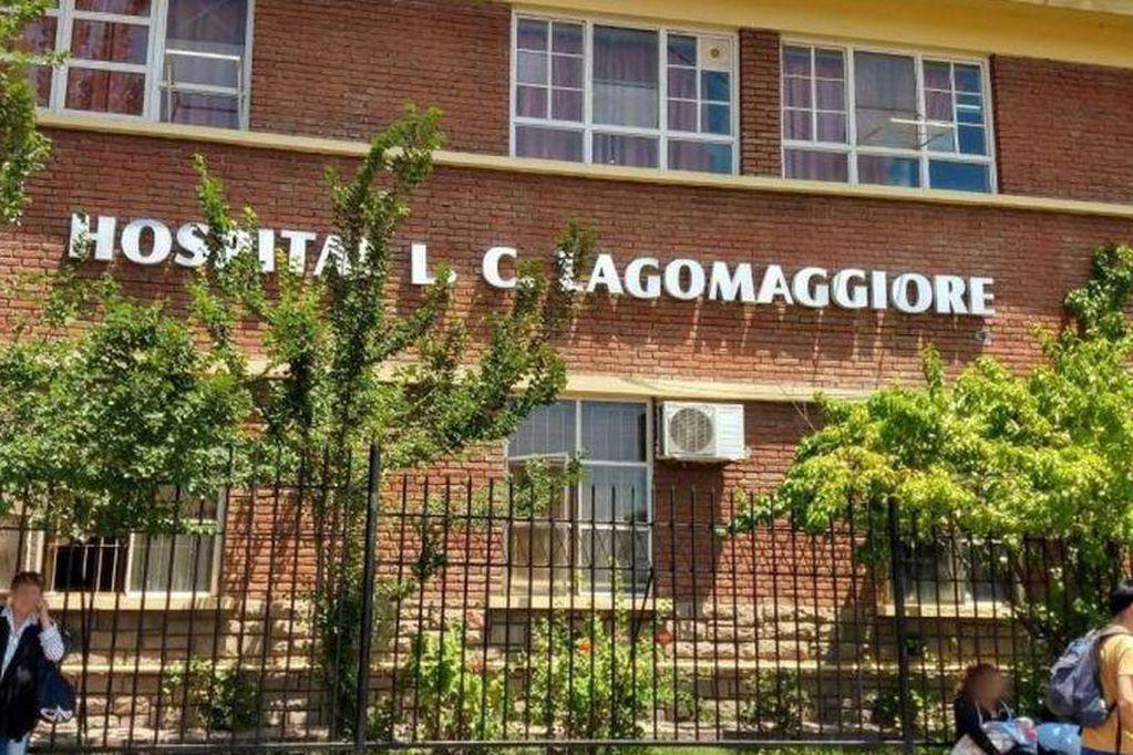 Una de lass víctimas permanece internadas en el Hospital Lagomaggiore. Archivo.