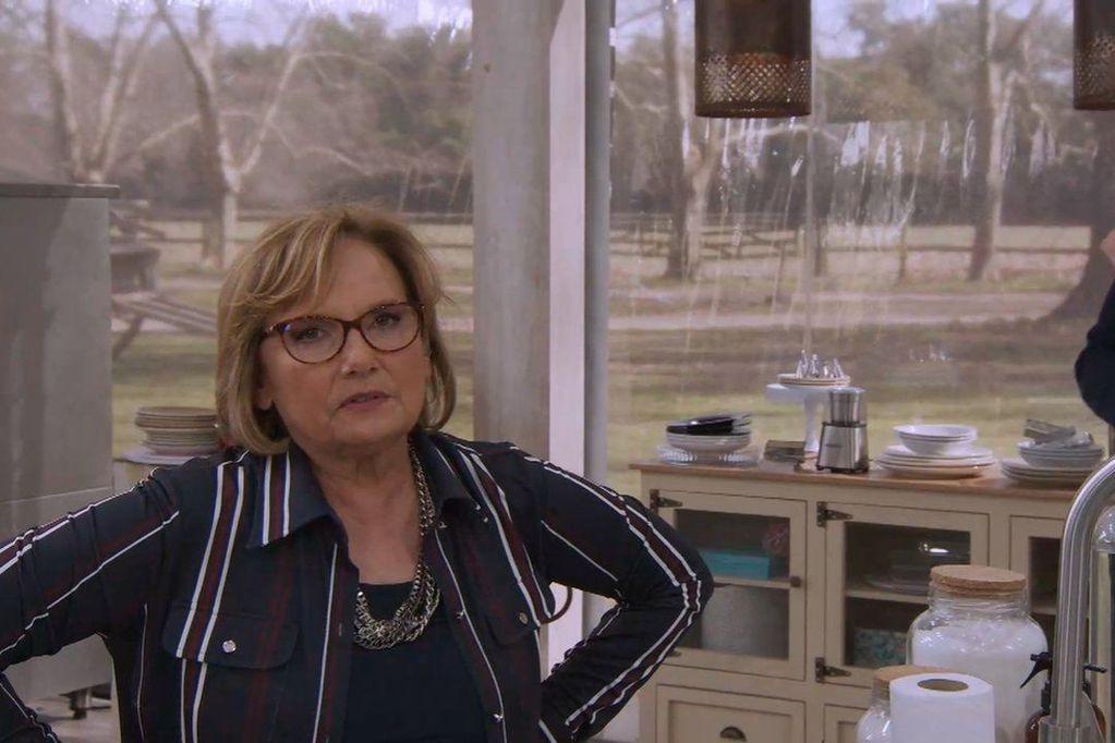 "Dolli Irigoyen, la jurado de ""Bake Off Argentina"" que protagoniza los memes virales de Twitter"