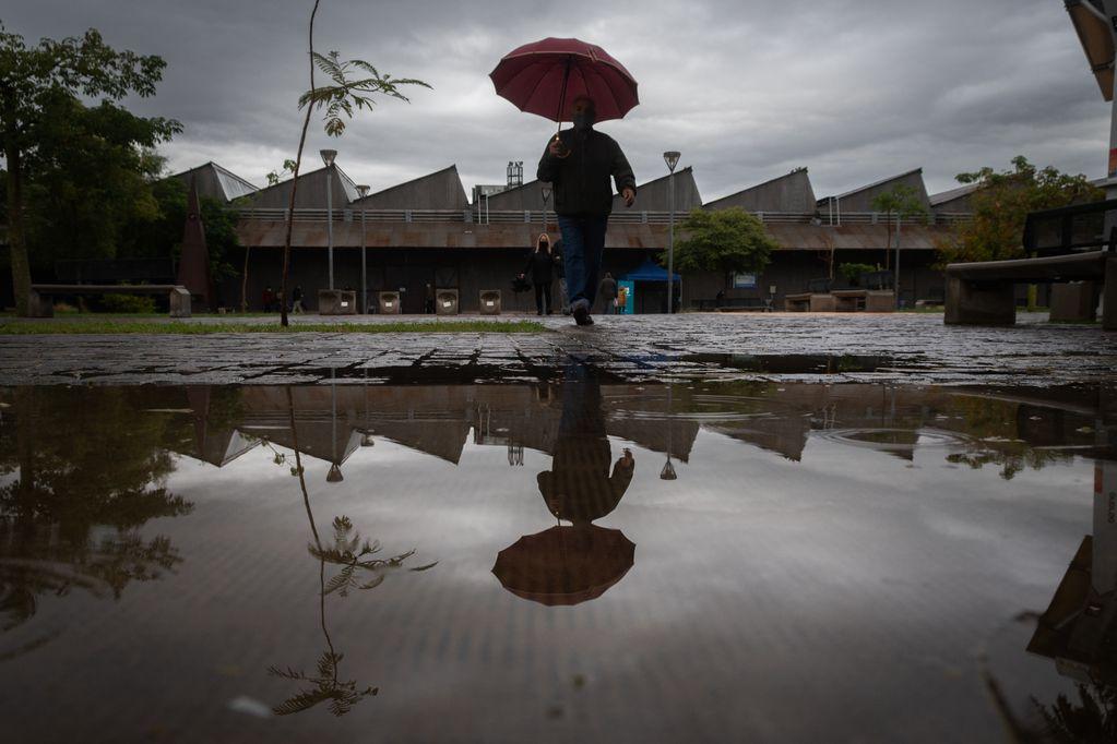 La lluvia se hace rogar en Mendoza y aunque hay probabilidad de precipitaciones son muy bajas. Foto: Ignacio Blanco / Los Andes
