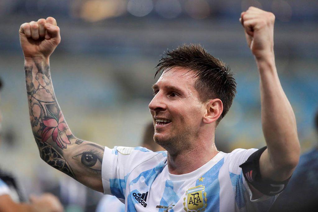 """""""Salir campeón con Argentina fue un alivio"""", la confesión de Lionel Messi."""