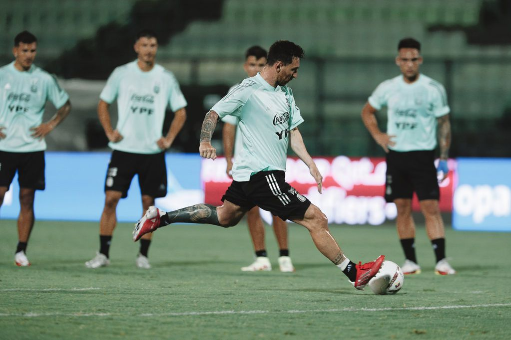 Lionel Messi, capitán y líder de la Selección Argentina. / Gentileza.