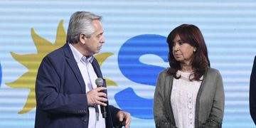 Cristina y Alberto tras la derrota del Frente de Todos en las PASO