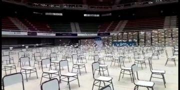 Aconcagua Arena vacío
