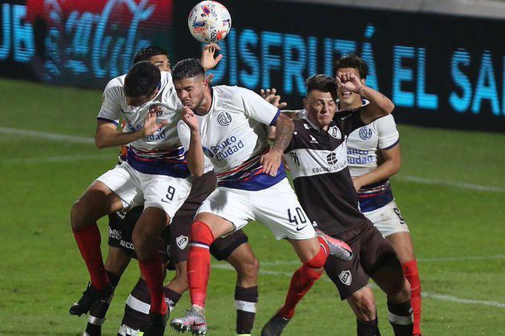 San Lorenzo igualó con Platense 1-1 en Vicente López.