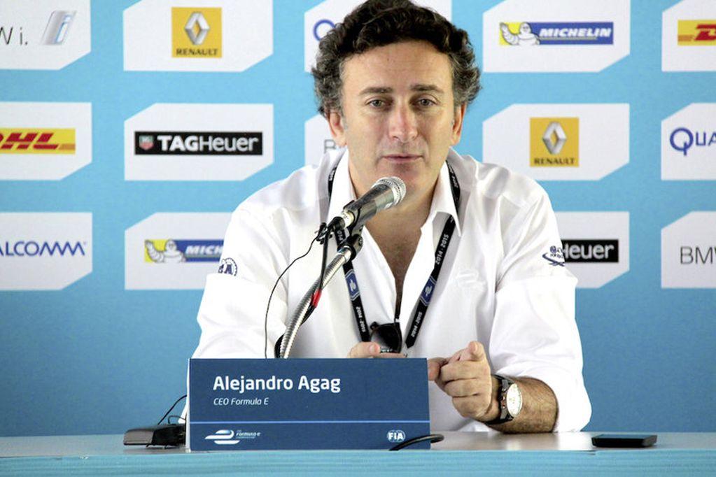 Alejandro Agag cargó contra los equipos de la Fórmula 1